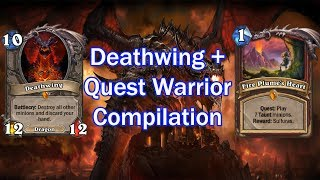 Quest Warrior and Deathwing in Knights of the Frozen Throne Meta - Hearthstone
