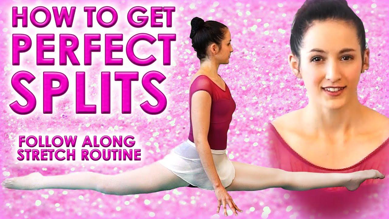 Splits Stretch Challenge Images