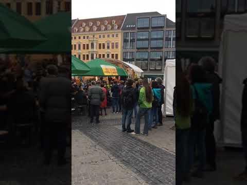 nice party in leipzig deutschland