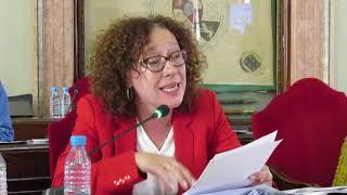 Alicia Morales defiende la moción para el cumplimiento de la Ordenanza de Transparencia