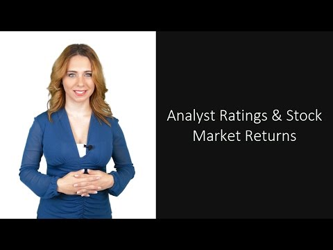 Analyst Recommendations & Stock Market Returns