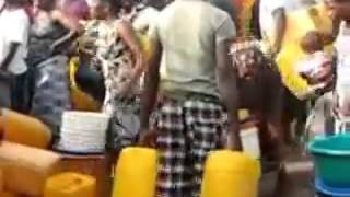 WATER SHORTAGE CRISIS IN PARTS OF ACCRA, GHANA