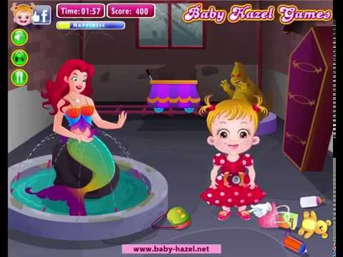 Baby Hazel In Disneyland - Games for babies
