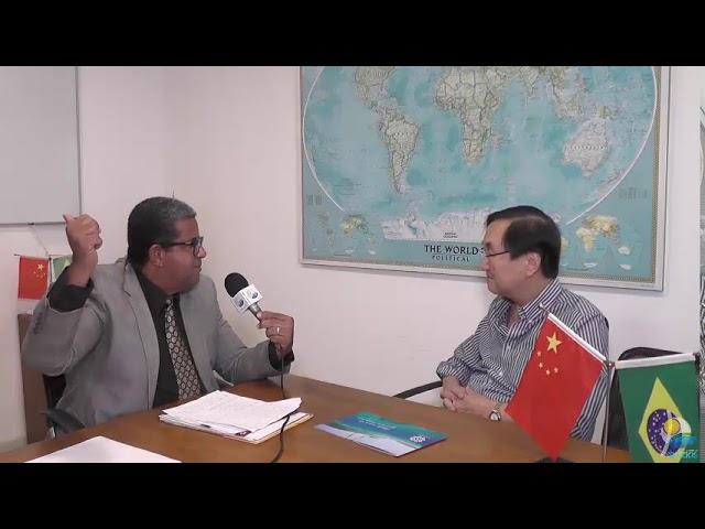 Élcio Ribeiro Entrevista: Presidente CCIBC Charles Tang