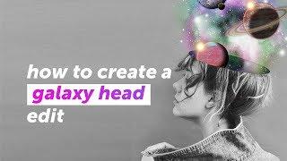 Comment créer une galaxie de la tête de manipulation modifier | PicsArt Tutoriel