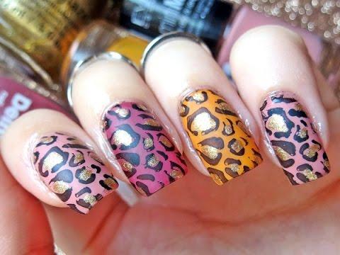 LEOPARD nokti - Stella McCartney inspired nail art ...
