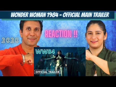 Wonder Woman 1984 – [ Reaction ! ] Official Main Trailer