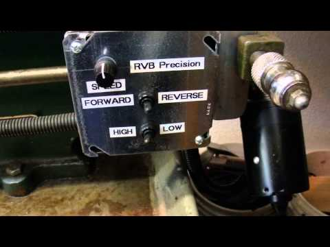 Power Feed DC motor conversion on Metal Lathe