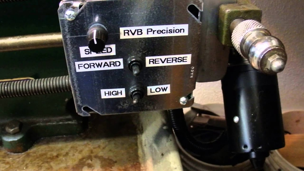 Power Feed Dc Motor Conversion On Metal Lathe Youtube