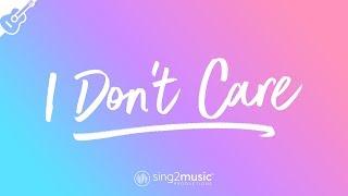 I Don't Care (Acoustic Guitar Karaoke) Ed Sheeran & Justin Bieber