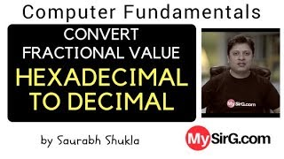 Convert Fractional value from Hexadecimal to Decimal