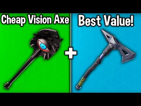 10 BEST CHEAP PICKAXES IN SEASON 9! (Fortnite Budget Harvesting Tools)