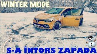 CAR VLOG - ZAPADA S-A INTORS | cerculete + am impins masina ❄️💪🏻