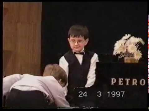 Krzysztof Mrzygłód - występy przed I° Szkoły Muzycznej w Tarnowie 1997/1998