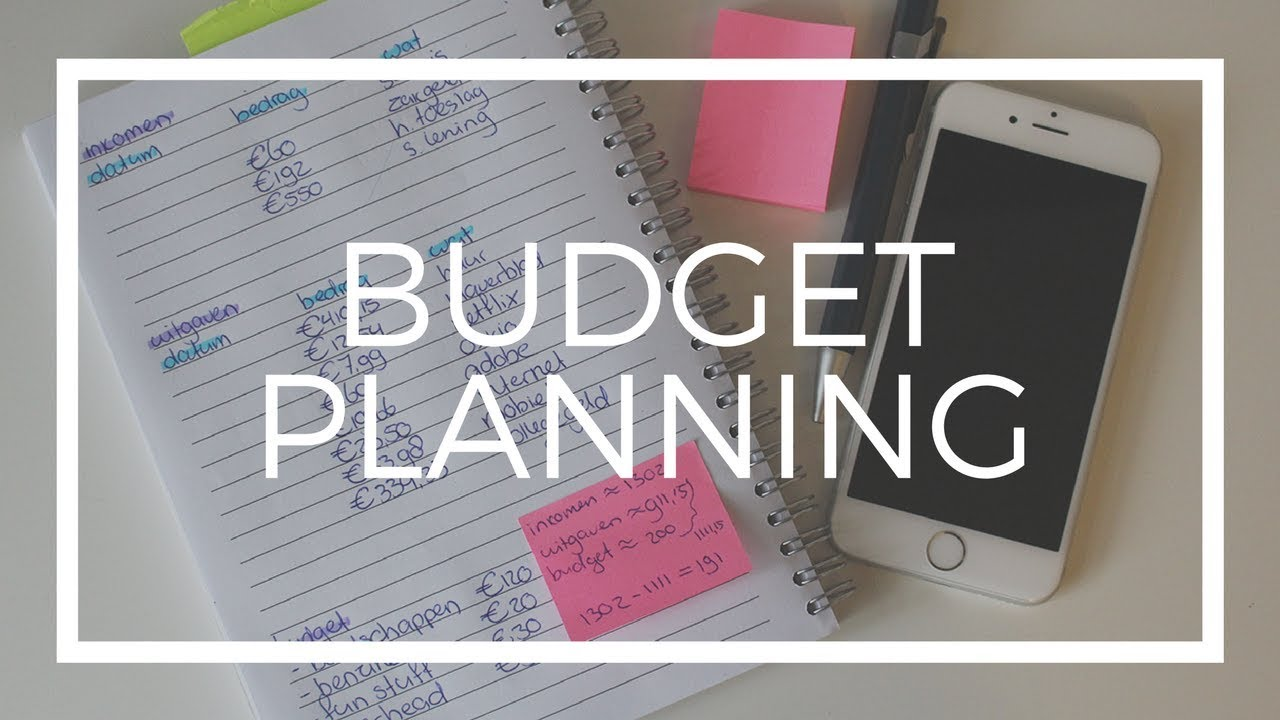how i plan my monthly budget as a student youtube
