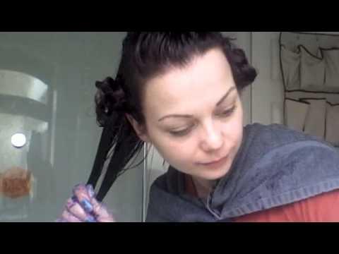 dark to purple hair tutorial youtube
