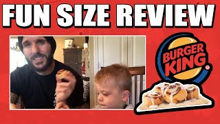 Fun Size Review: Burger King's Cini Minis