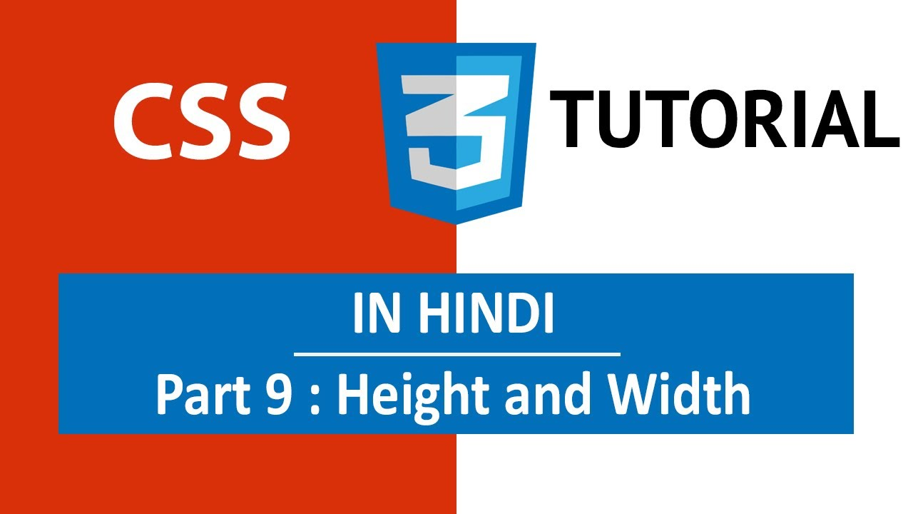 """Complete Guide to """"CSS Height and Width"""" For Beginner"""