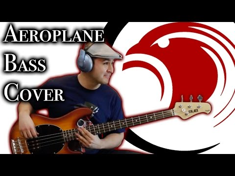 RHCP - Aeroplane (Bass Cover) With TABS