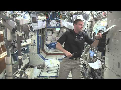 Space Station Astronaut Discusses Life in Space