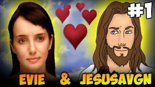 JesusAVGN и Evie  #1 (УГАР)