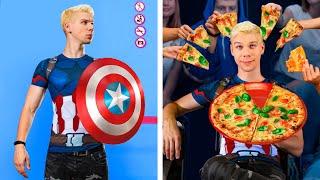 Как пронести еду в кинотеатр / Супергерои в кино!