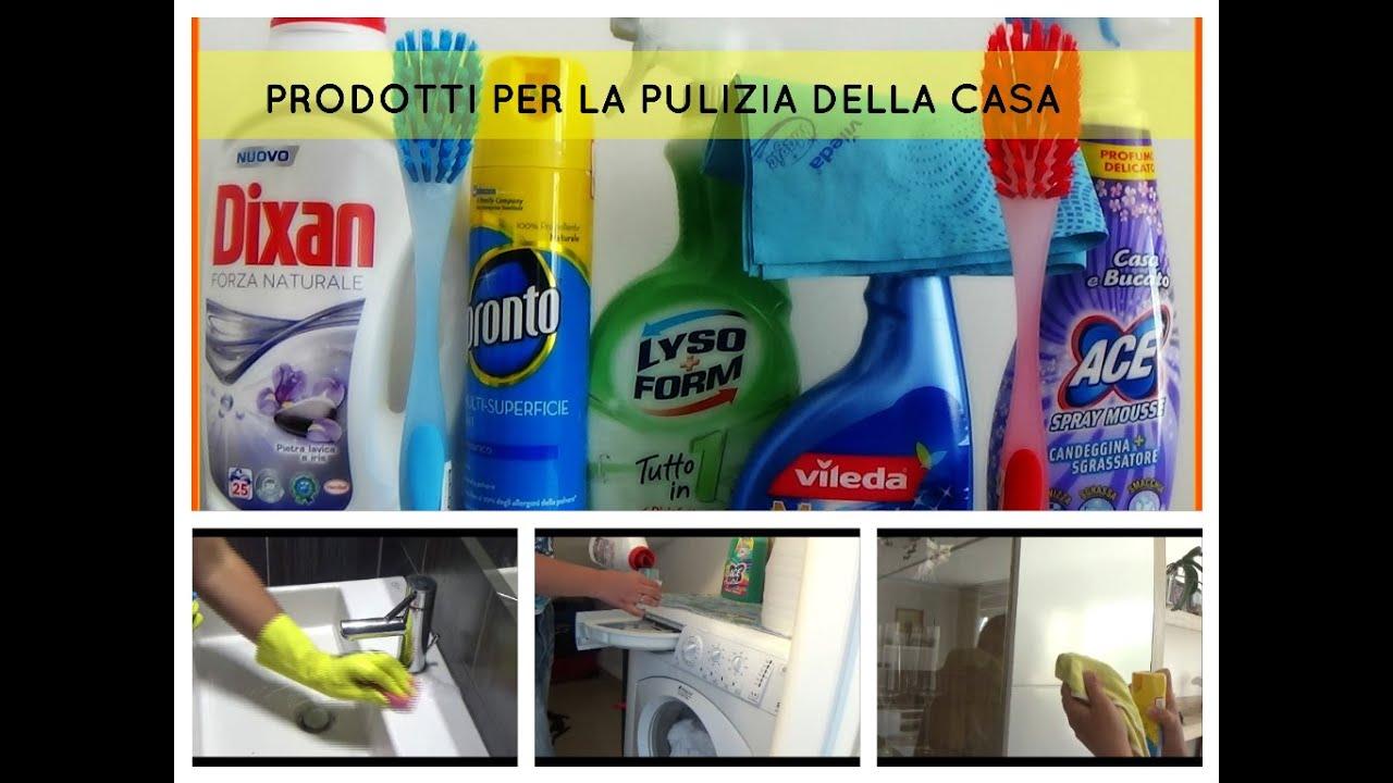 I miei 5 prodotti top per la pulizia della casa pluricollaborazione youtube - Prodotti per pulire casa ...