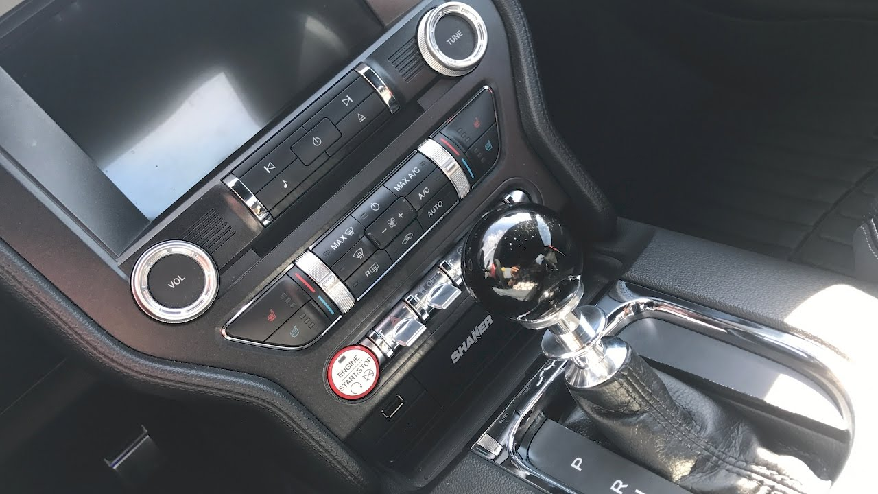 Shifter Shaft Conversion Kit (15-17 Automatic Mustangs ...