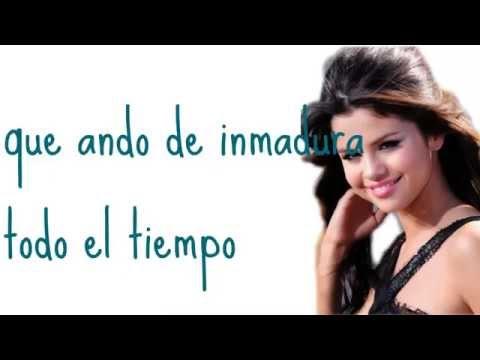Selena Gomez-Dices- Who says- Spanish Version Lyrics