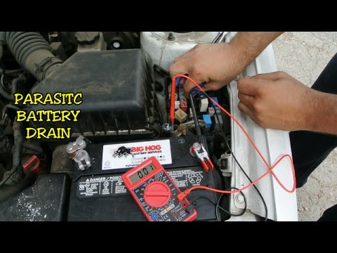 Dead Battery How To Find Drain On Car