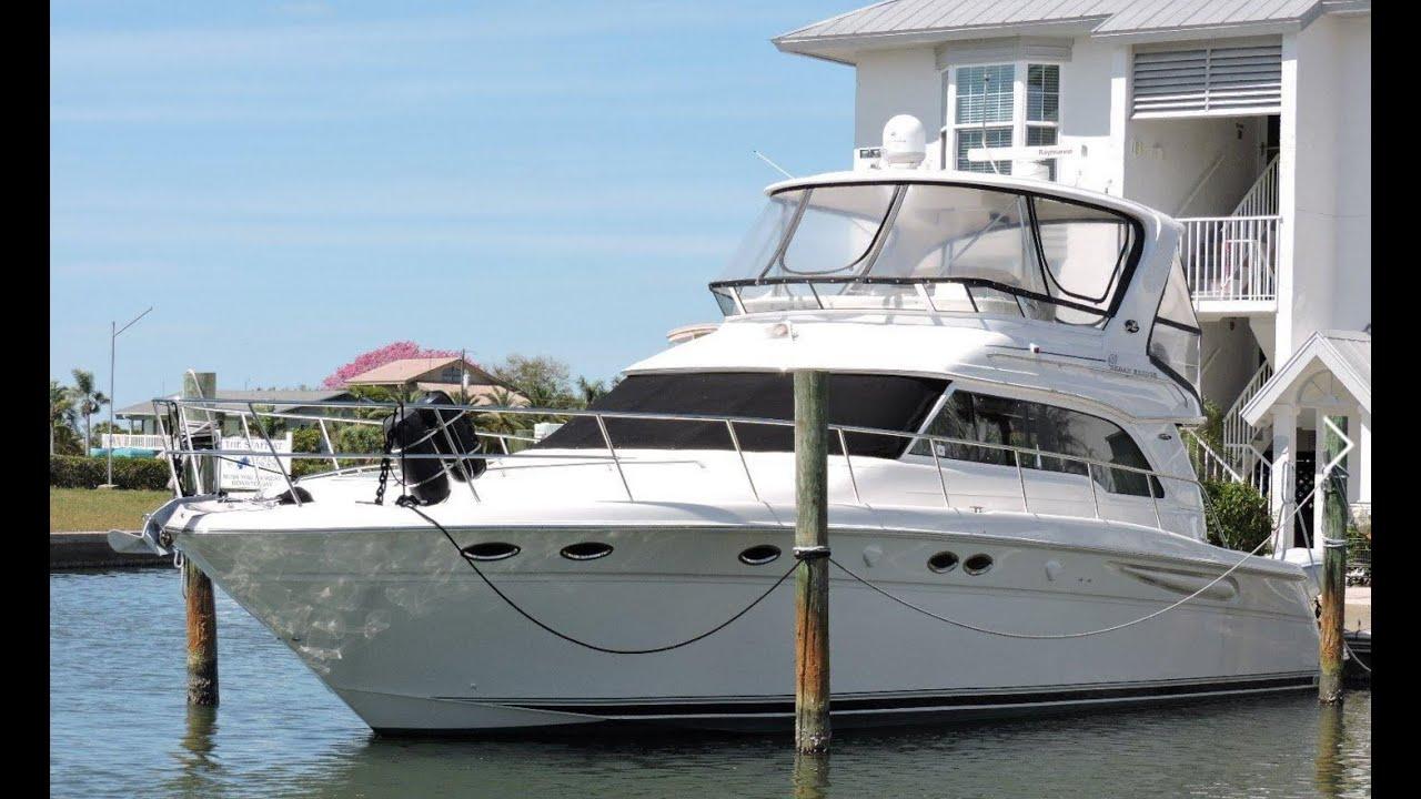 2004 Sea Ray 480 Sedan Bridge For Sale At Marinemax Venice