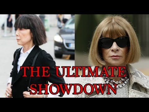 REI KAWAKUBO VS. ANNA WINTOUR, THE MET GALA DRAMA