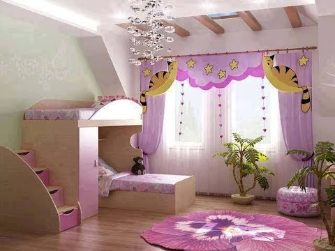 Kids Room designs - for girls and boys , Interior ... on Girls Bedroom Ideas For Very Small Rooms  id=66302