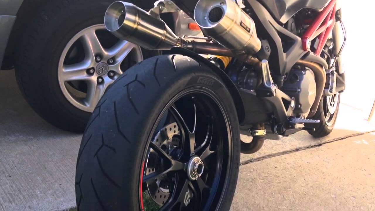 Ducati Monster  Slip On Exhaust