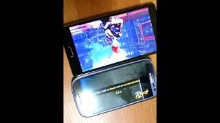 베가 팝업노트와 삼성 갤럭시s3 lte 속도비교