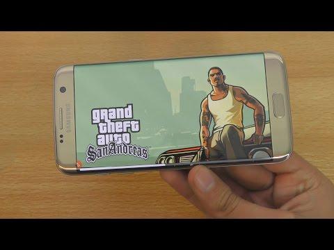GTA San Andreas Samsung Galaxy S7 Edge Gaming Test (4K)