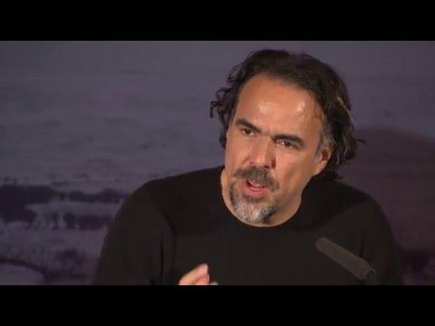 Conférence de presse The revenant (Leonardo DiCaprio, Will Poulter, Alejandro González Iñárritu )