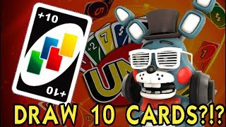 DRAW 10 CARDS?? WHAT?? || UNO 2vs2 Match with Otbgames 73 || MEGA Episode