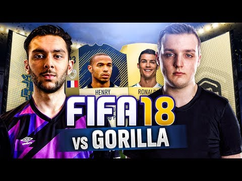 TASS VS GORILLA ON FIFA 18 ULTIMATE TEAM! | THIERRY DEBUT!