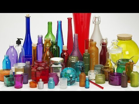 Краска для стекла. Чем красить стекло. Цветные бутылки