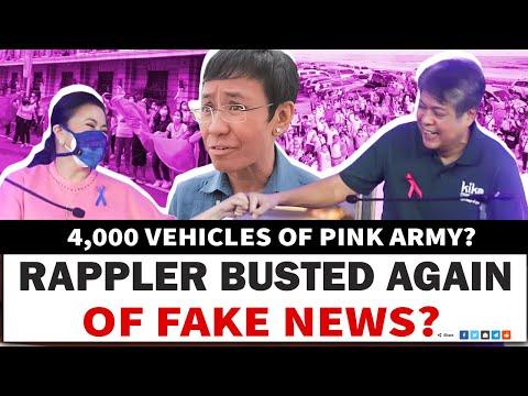 RAPPLER NANLlNLANG NA NAMAN? 4,000 VEHICLES OF PINK ARMY NI LENl? -  (2020)