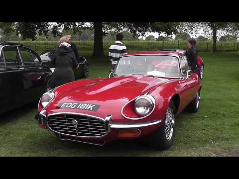 Jaguar Enthusiasts Club meet at Windsor Castle