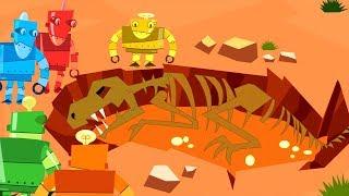 Fossils Music Video Dinosaurs Science Song   Thomas Edison's Secret Lab