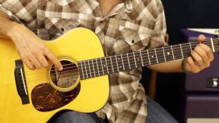 How To Play - Lady Antebellum - Need You Now - Acoustic Guitar Lesson - Song Tutorial