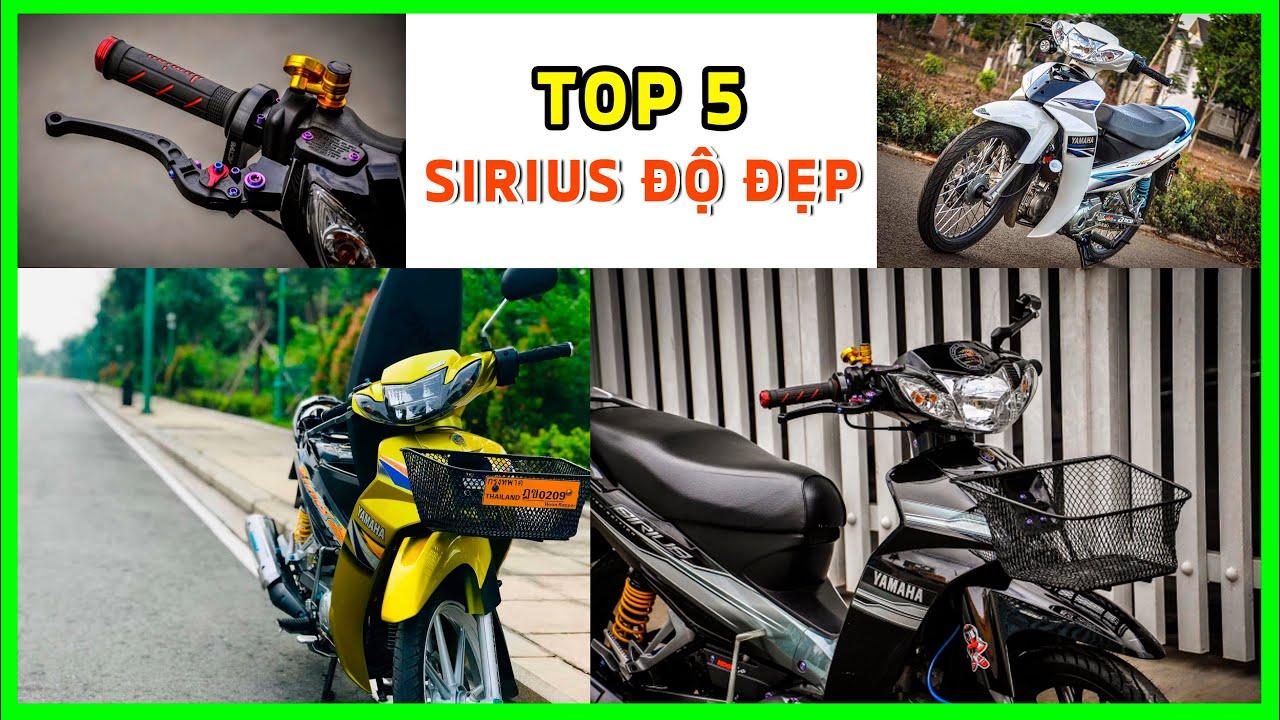 🌈 Top 5 xe Sirius độ kiểng đơn giản kiểu Biker đẹp nhất ▶️ CUA Vlog61