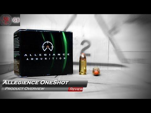 Allegiance OneShot 9mm Ammo Review