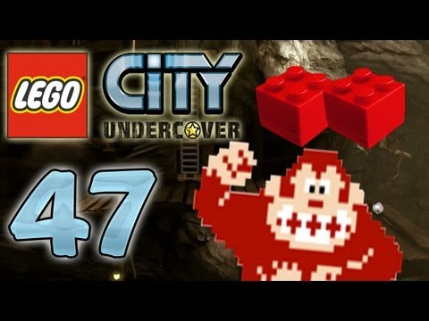 Lets Play Lego City Undercover Part 47 Donkey Kong Arcade
