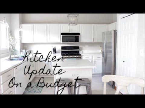 Updating Your Kitchen On A Budget!!