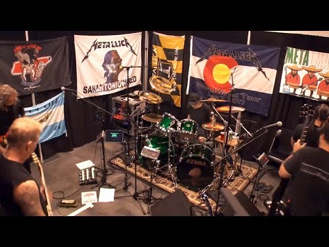 Metallica Spit Out the Bone Tuning Room TORONTO JUL 16 2017