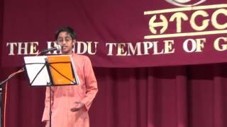 Varun's OM SIVOHAM performance